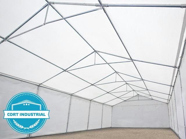 Cort Industrial 6x12m, Premium