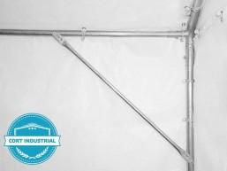 Cort Industrial 6x6m, Profesional 260, Ignifugat
