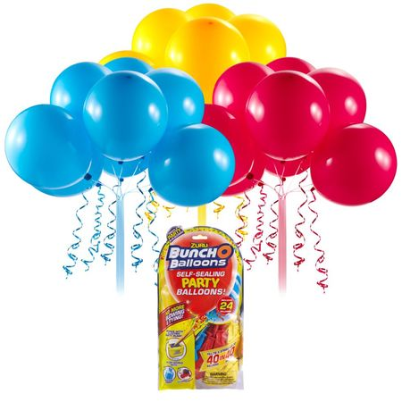 BUNCH O BALLOONS PARTY BALLOONS SET REFILL ROSU/GALBEN/ALBASTRU