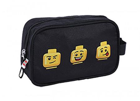 Geanta de toaleta LEGO Faces - Negru (20070-2007)