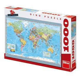 Harta politica a lumii (1000 piese) - Puzzle