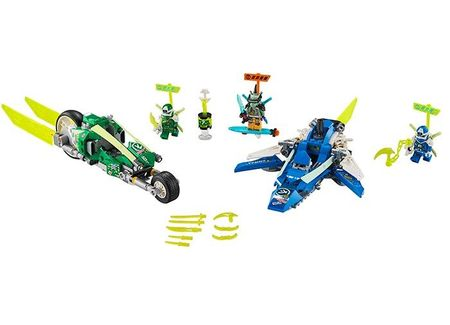 Masinile de curse ale lui Jay si Lloyd (71709)