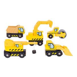 Set masinute - Santierul de constructii