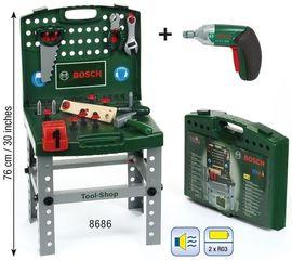 Stand cu unelte+accesorii Ixolino- Bosch