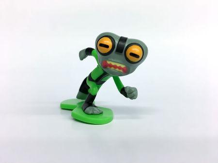 BEN 10 Mini figurine blister - Grey Matter