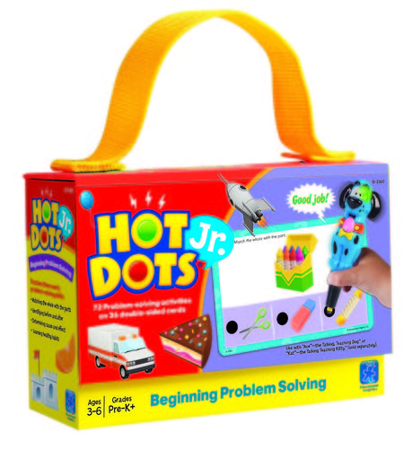 "Carduri inteligente Junior Hot Dots ""Asocieri logice"""