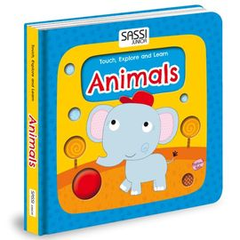 Poze Carte Touch, Explore and Learn - Animals