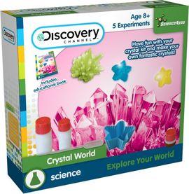Kit experimente - Cresterea cristalelor