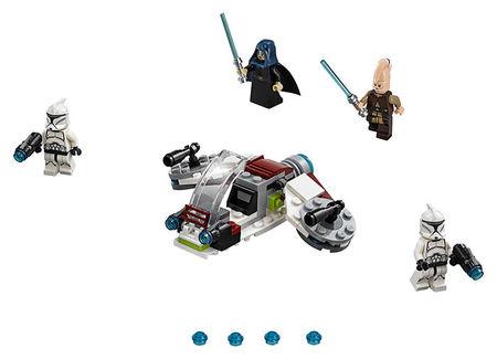 Pachet de lupta Jedi si Clone Troopers (75206)