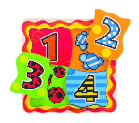 Primul meu puzzle - numere