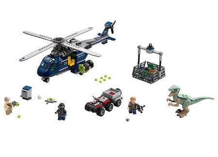 Urmarirea elicopterului albastru (75928)