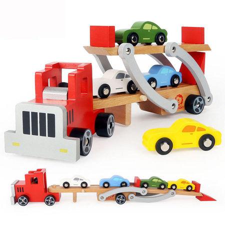 Camion cu platforma auto