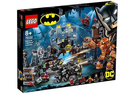 Invazia lui Clayface in Batcave (76122)