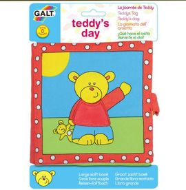 Poze Large Soft Book: Carticica moale Teddy's Day