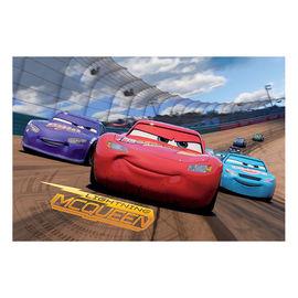 Puzzle 2 in 1 - Cars 3: Cursa cea mare ( 66 piese)