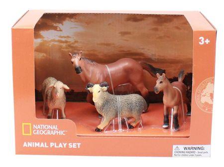 Set 4 figurine - Animalute de la ferma