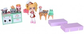 Poze Shopkins Happy Places Seria 1 - WELCOME PACK KITTY KITCHEN, Moose 56326