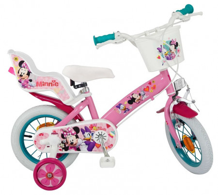 Bicicleta 12 fetita  Minnie Mouse Club House, fete - Toimsa