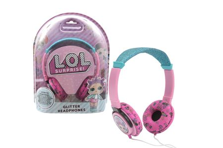 LOL surprise CASTI AUDIO CU SCLIPICI
