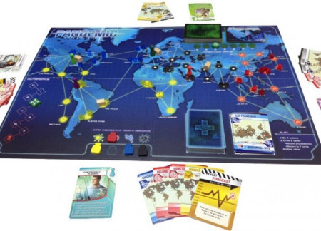 pandemic  - plansa de joc