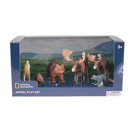 Set 6 figurine - Animalute Salbatice