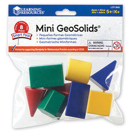 Forme geometrice - MINI (Set 8 buc) - Learning Resources