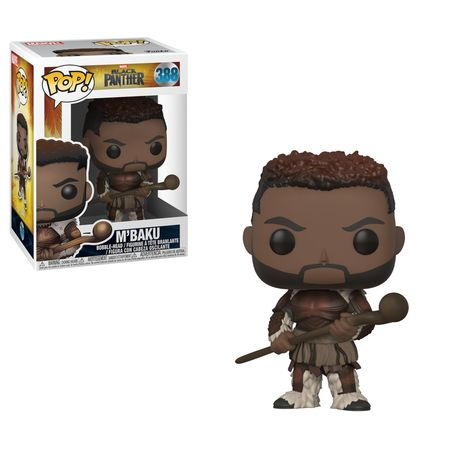 POP MARVEL: BLACK PANTHER - M'BAKU