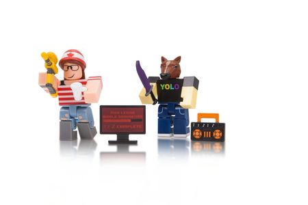 ROBLOX BLISTER 2 FIG. Mad Studio Mad Pack