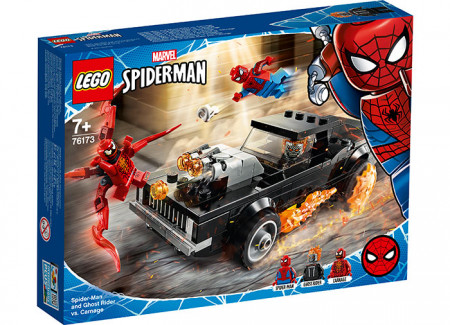 Spider-Man si Ghost Rider vs. Carnage