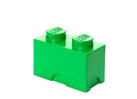 Cutie depozitare LEGO 1x2 verde inchis (40021734)