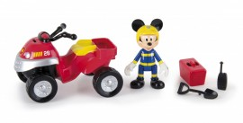 Motocicletă de pompier Mickey Mouse