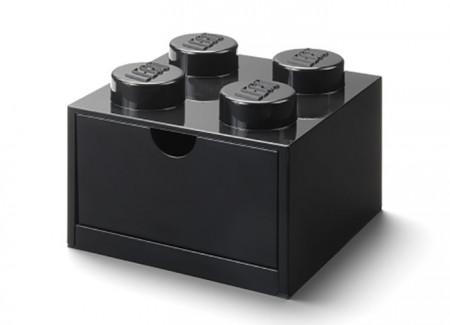 Sertar de birou LEGO 2x2 negru
