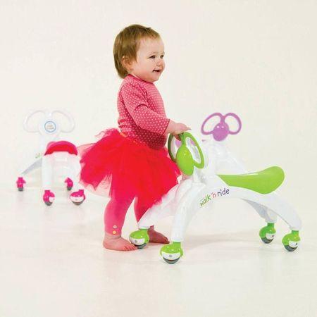 Vehicul fara pedale - Walk 'n' Ride (roz)