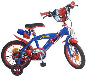 Bicicleta baieti 14'' Spiderman