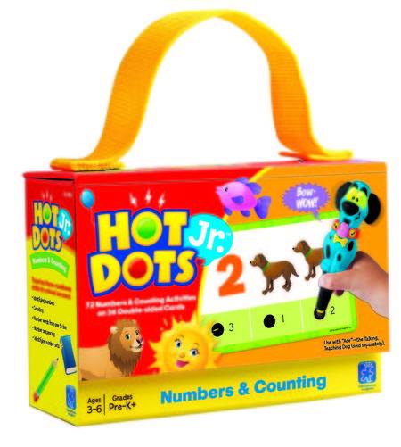 """Carduri Junior HOT DOTS """"Numerele"""""""