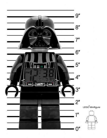 Ceas desteptator LEGO Star Wars Darth Vader (9002113)