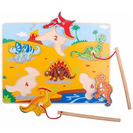 Joc magnetic - Dinozaurii fiorosi
