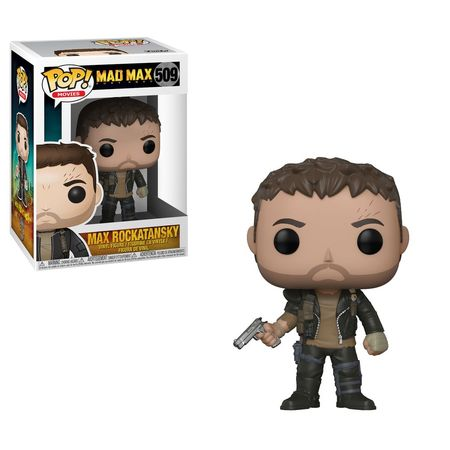 POP VINYL: MAD MAX: FURY ROAD: MAX W/ GUN