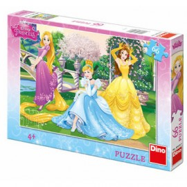 Puzzle - Printese in gradina (66 piese)