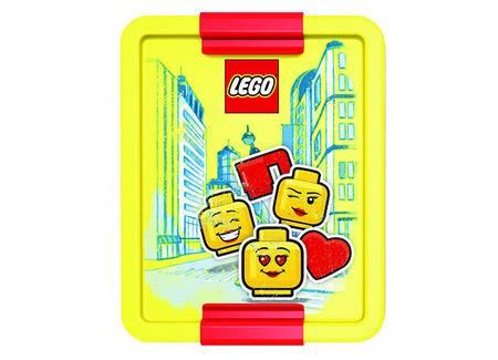 Cutie pentru sandwich LEGO Iconic rosu-galben (40521725)