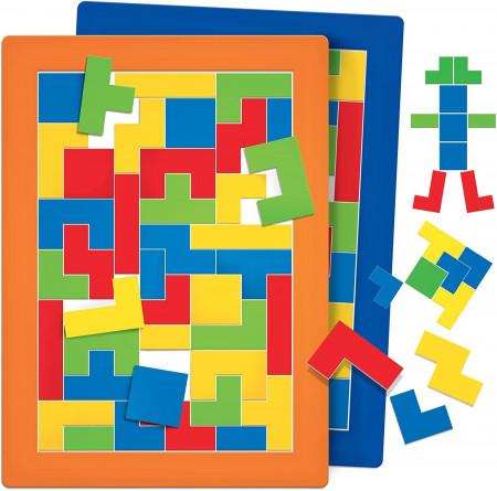 Montessori - Puzzle vizual