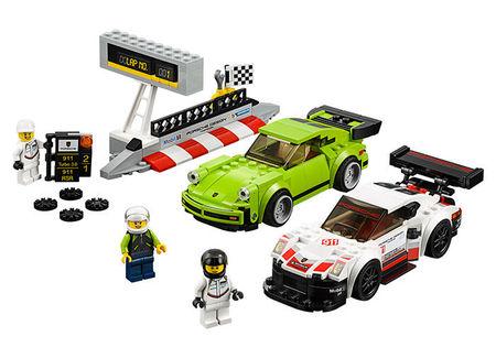Porsche 911 RSR si 911 Turbo 3.0 (75888)