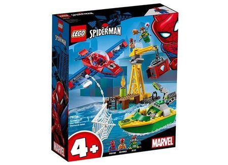 Spider-Man: Doc Ock si furtul diamantelor (76134)