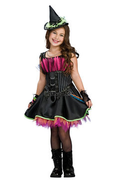 Costum de carnaval - ROCKIN OUT WITCH