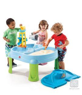 Masuta de joaca cu apa si nisip SPLASH N SCOOP BAY