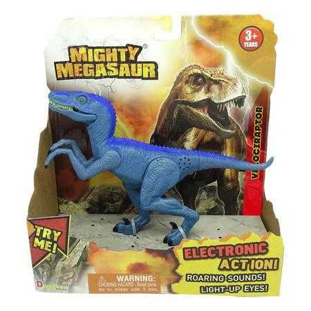 MIGHTY MEGASAUR DINOZAUR CU LUMINI sI SUNETE - Velociraptor