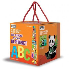 Eco Blocks - Primul meu alfabet -New edition