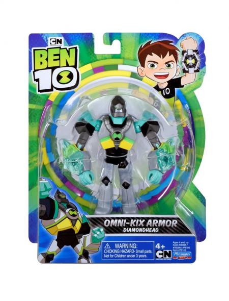 Figurine Ben 10 12cm Omni-Kix Diamondhead