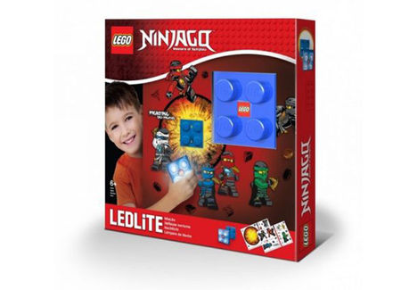 Lampa de veghe cu autocolante LEGO Ninjago (LGL-NI14)