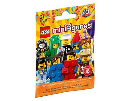 Minifigurina LEGO seria 18 (71021)